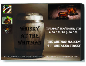 Whisky at the Whitman