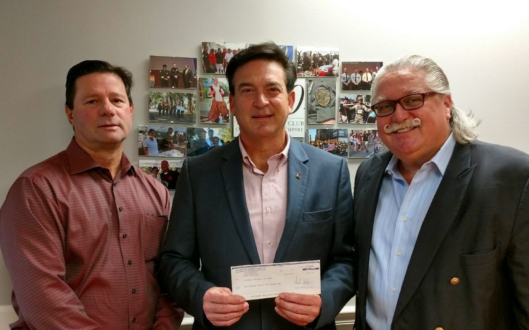 Pooler First Responders Luncheon Donates to the Two Hundred Club