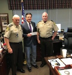 Continued support from Chatham County Sheriff's Office