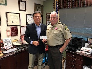 Thank you Sheriff and Mrs. John T. Wilcher!